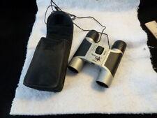 Mustang Outdoors Pocket Sized Binoculars - Compact Folding Field Glasses 10 x 25
