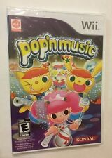 Pop'n Music Nintendo Wii Brand New, Factory Sealed KONAMI 40+ Songs