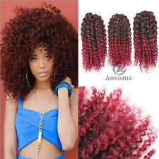 Short curly hairlocks synthetic hair extensions ebay mali bob marley curly twist soft crochet braiding hair synthetic braid blackbug pmusecretfo Image collections