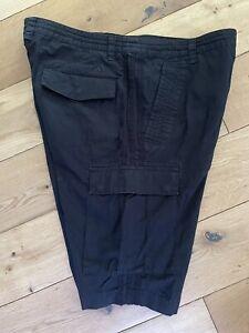 Men's Adidas Black Cargo Utility Shorts Heavy Size Large