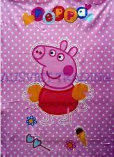 Brand new Large Peppa Pig Girls kids cartoon Blanket throw rug