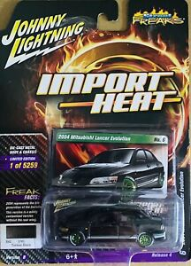 Johnny Lightning Street Freaks 2004 Mitsubishi Lancer Evaluation