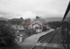 PHOTO  STRATHCARRON RAILWAY STATION VIEW TAKEN FROM A TRAIN IN 1962 1