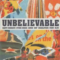 UNBELIEVABLE various artists (2X CD, compilation, 2001) indie rock, acid house,