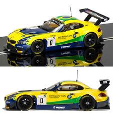 SCALEXTRIC Slot Car C3721 BMW Z4 GT3 - Blancpan Series Brands Hatch 2015