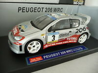 Peugeot 206 WRC - PANIZZI - Rally Catalunya 2002 N°3 - SUNSTAR 1/18 no autoart