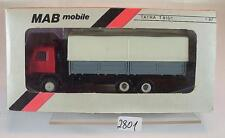 MAB Mobile 1/87 Tatra 815/1 TRUCK FLATBED/Tarpaulin without label OVP #2801