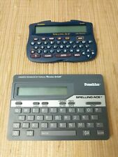 Franklin Spelling Ace Lot Sa-206 and Sa-98A Spellcheck Thesaurus Dictionary