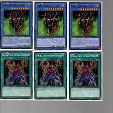 Yugioh Cards - 6 Card Set - Dark Master Zorc & Ritual MIL1-EN009 & EN021 1st Ed