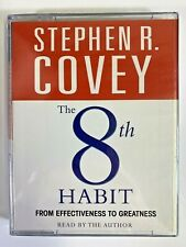 Personal Development Audio Book Cassette: The 8th Habit Read By Stephen R. Covey