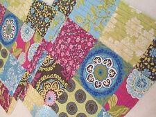 Standard Shams, Pair ~ Quilted BOHO Cynthia Rowley Patchwork Print Cotton Shams