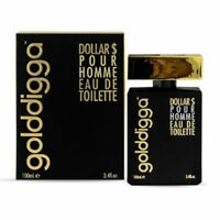 Mens Golddigga Dollar $ Pour Homme Eau De Toilette 100ml Spray Fragrance for Him