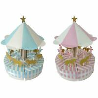 Romantic Carousel Candy Box Wedding Birthday Party Decoration Guest Gift  #JT1