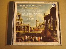 CD ARCHIV / VIVALDI - CONCERTI L'AMOROSO / TREVOR PINNOCK