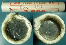 ITALIA ROTOLINO ROLL 50 PZ 50 LIRE VULCANO MICRO PICCOLE FDC 1994