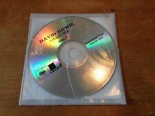 DAVID BOWIE A Reality Tour 17tk Promo/Advance/Adv Disc (Disc 1)