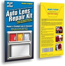 Clear Auto Lens Repair Kit Quick Fix A Cracked Broken Tail Light Smooth Surface