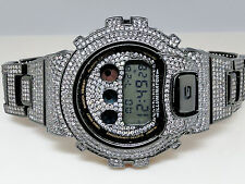 Black G-Shock/G Shock Digital Mens Simulated Diamond Watch Joe Rodeo Jojino Kc