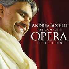 Andrea Bocelli - The Complete Opera Edition (18CD, 2012, Decca) NEW/SEALED