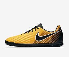 TG. 44 EU Nike Magistax Ola II IC Scarpe da Calcio Uomo Arancione X8b