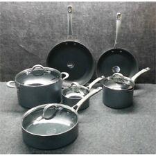 New ListingCirculon 84564 Elementum 10 Piece Hard Anodized Nonstick Cookware Pan Set*