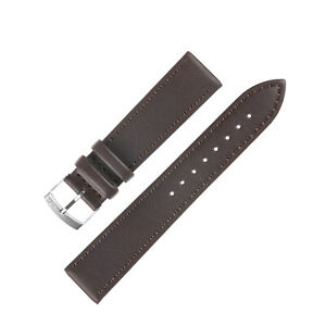 Morellato ABETE Buffalo-Embossed Vegan Leather Watch Strap in BROWN