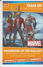 SAINSBURYS HEROES DISNEY  MARVEL CARDS NO 141 Guardians of the Galaxy  ( tub 1 )