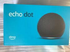 Amazon Echo Dot (4th Gen) Smart Speaker with Alexa - Charcoal - SEALED new