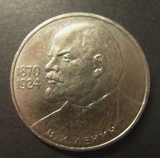 RED DAWN 50th Anniversary Lenin Coin of Russian Revolution in Display Box+COA