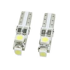 10 x White 6000K 58 70 73 74 T5 Dashboard Gauge 3 1210 SMD LED Wedge Bulb Light