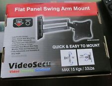 VideoSecu LCD Monitor TV Wall Mount ML10B Flat Panel Swing Mount