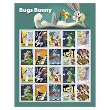 Bugs Bunny 20 FOREVER STAMP SHEET