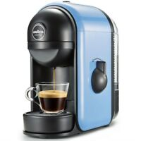 Lavazza Minu Coffee Machine Blue Color Fresh Coffee Maker Drinking Warm Gift NEW