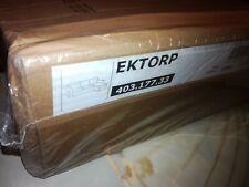 EKTORP Bezug für 3er Sofa Recamiere in Nordvalla Dunkelbeige NEU IKEA 40317733