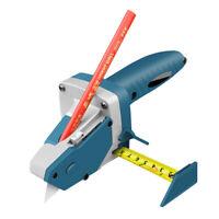 Manufatto manuale per utensile da taglio per cartongesso con metro a nastro