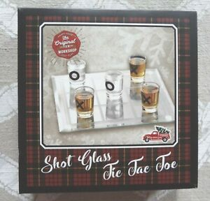 New Shot Glass Tic Tac Toe by Samsonico