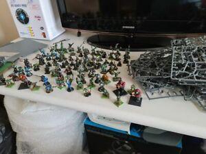 Bundle Of 99 Warhammer 40K Figures ETC