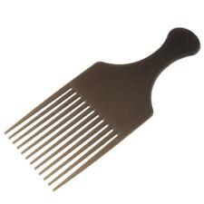 Peigne Afro Peigne Afro Peigne Avec Poignée, Pour Les Cheveux Volumineux,