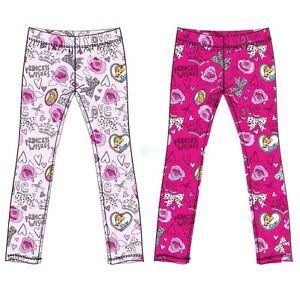 leggings principesse disney  bambina 100%  cotone