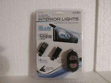 12 Volt Auto 2 Color Soft Blue & Bright White Micro LED Interior Lights-NIP