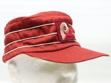 VTG 1970s Philadelphia Phillies Pillbox Hat Burgundy White 3 Stripe Snapback Cap