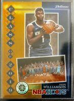 2019-20 NBA Hoops Premium Zion Williamson Class Of 2019 Orange Prizm SSP
