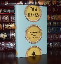 Uncommon Type Some Stories SIGNED by Tom Hanks New Hardcover 1/1 Ed