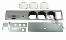 Holden Torana LH LX SS Silver 7pce Dash Kit +Facia +Glovebox +AshTray +Lens NEW