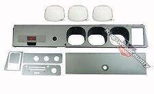 Holden Torana LH LX SS Silver 7pce Dash Kit +Facia +Glovebox +AshTray +Lens NEW
