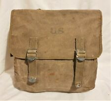 Original WW2 American US Army Airborne GI M1936 Musette Bag 2