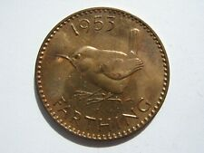 More details for 1953 proof bronze farthing f662a