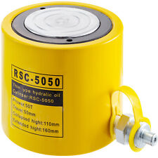 Hydraulic Cylinder Jack 50 Ton 50mm 2inch Stroke Solid Pressure Pump Ram