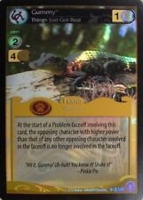 MLP My Little Pony CCG ABSOLUTE DISCORD :Gummy, Things Just Got Real UR -2 FOIL