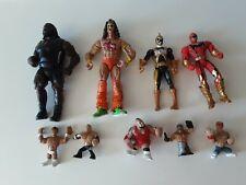 Mixed Toy Figures Power Rangers Wrestlers